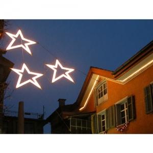 Wil SG - Weihnachtssterne, Aufgang zur Altstadt