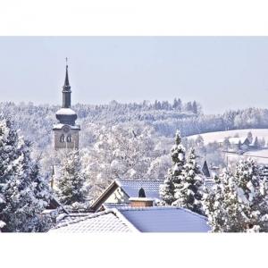 Bischofszell: Blick auf Kirchturm