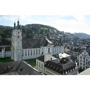 St. Gallen - Dom mit Klosterhof