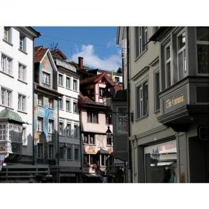 St. Gallen - Erker in Spisergasse
