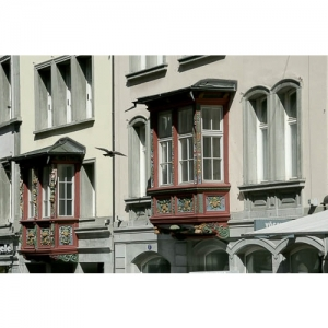 St. Gallen - Erker an der Marktgasse