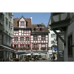 St. Gallen - Blick auf Schmiedgasse