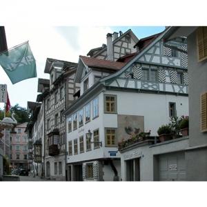 St. Gallen - Webergasse / Gallusplatz