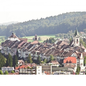 Wil: Blick auf Altstadt
