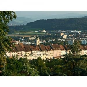 Wil SG - Ansicht mit Altstadt