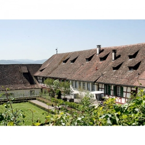 Kartause Ittingen - Barockgarten mit Kornschütte