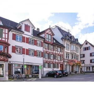 Weinfelden - Häuserfront, Frauenfelderstrasse