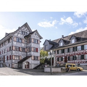 """Weinfelden - Haus Gubler und """"Alte Farb"""", Frauen.."""