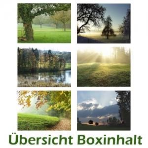 Sechser-Box: Herbstlandschaften