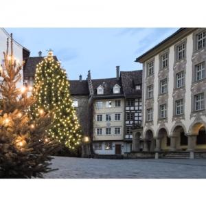 Wil SG - Am Hofplatz mit Baronenhaus