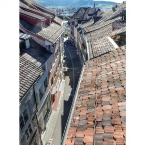 Wil SG - Marktgasse, Blick von oben
