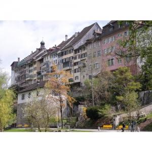 Wil SG - Blick auf Altstadt