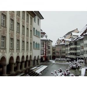Wil SG - Marktplatz mit Baronenhaus