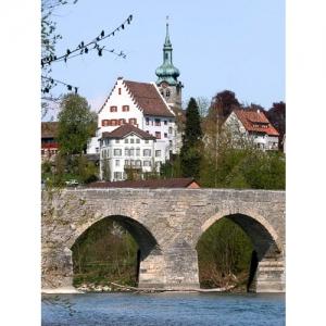 Bischofszell mit alter Thurbrücke