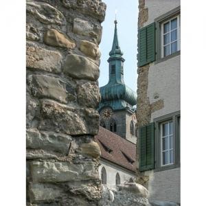 Bischofszell: Kirchturm St. Pelagius
