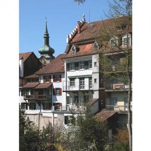Bischofszell: Hinterfront Kirchgasse
