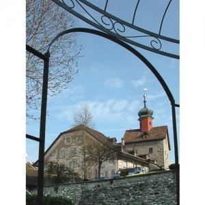 Bischofszell: Helzerhaus und Bogenturm