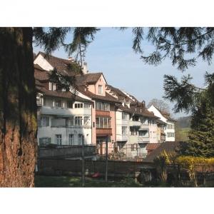 Bischofszell: Hinterfront Grabenstrasse