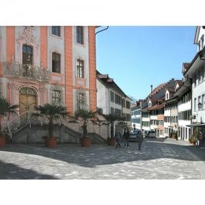 Bischofszell: Rathaus - Marktgasse