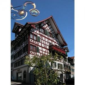 Bischofszell: Eckhaus Obergasse - Neugasse